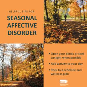 Tips for Seasonal Affective Disorder