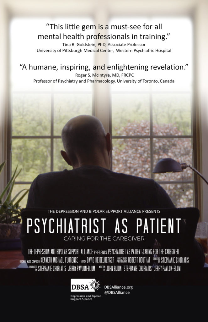 Psychiatrist As Patient Poster